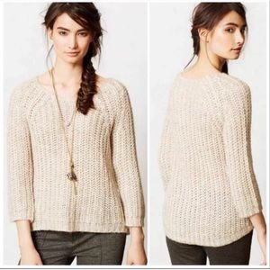 Anthropologie | Knitted & Knotted Knit Sweater S
